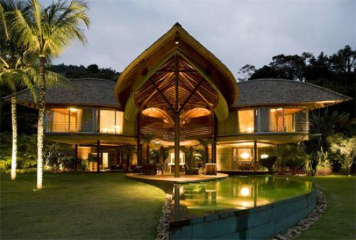 Экологически чистый роскошный дом