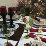 Праздничный рождественский стол