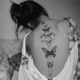 Фото черно- белые татуировки